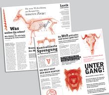 Weltuntergang Moosach 2012 Zeitung