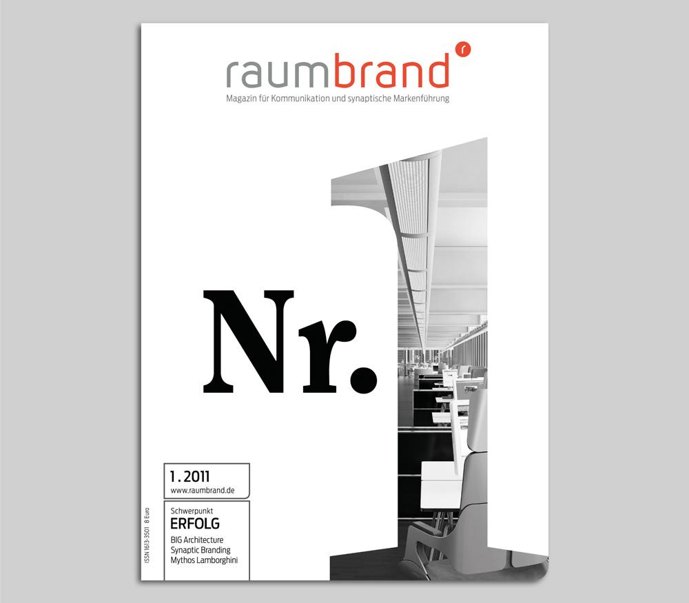 raumbrand - Magazin für Kommunikation  und synaptische Markenführung
